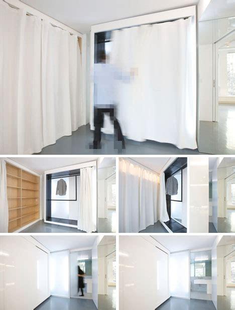 Home Depot Decorative Shelves by Space Age Apartment Sliding White Walls Amp Secret Spaces