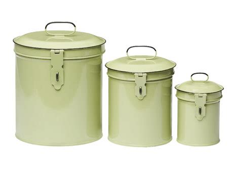 decorative metal kitchen canisters metals canisters for