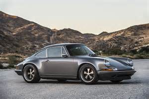 Stinger Porsche A Lovely Pair Of Porsche 911s By Singer Showed Up At