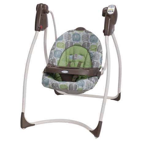 cheap baby swings at walmart graco 174 lovin hug swing sequoia walmart ca
