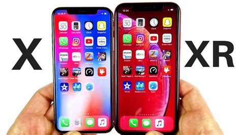 Iphone X Xr Comparison by Iphone X Vs Iphone Xr Speed Test