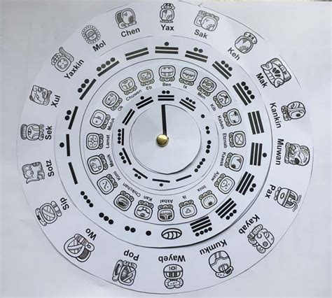 how to make a mayan calendar for make your own calendar ks2 archaeologist