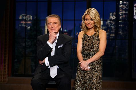 regis philbin and kelly ripa have not spoken in over three regis philbin kelly ripa hasn t spoken to me since i quit
