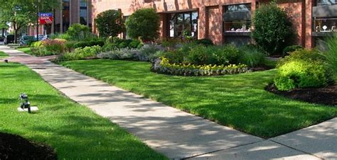 office complex curb landscape maintenance r a s k scapes