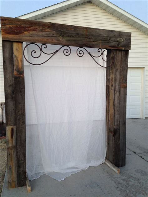 Wedding Arch Made From Doors by 25 Best Ideas About Wood Wedding Arches On