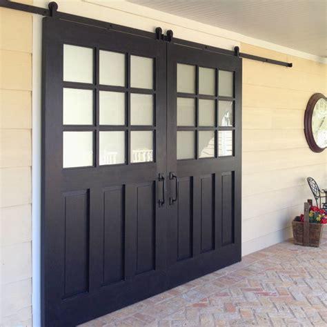 exterior sliding barn door track system exterior sliding barn door patio door with window glass