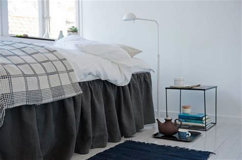 ikea bed skirt bemz opens the door to your bedroom it s a cover up