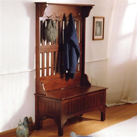 hall tree entry bench coat rack entryway hall tree coat rack storage bench seat hooks