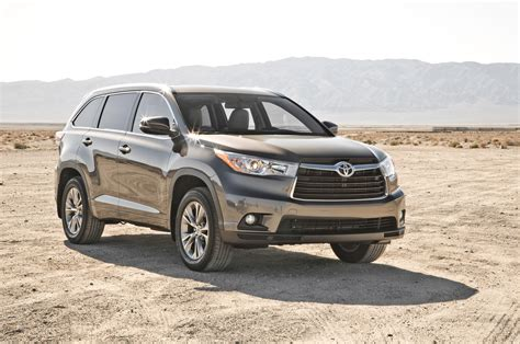 Toyota Recall 2014 Recall 2014 Toyota Highlander Airbag Software Issue
