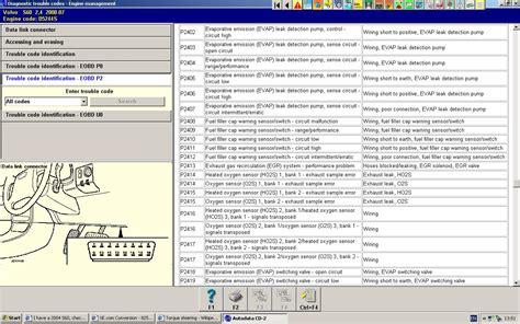 volvo check engine light codes volvo free engine image