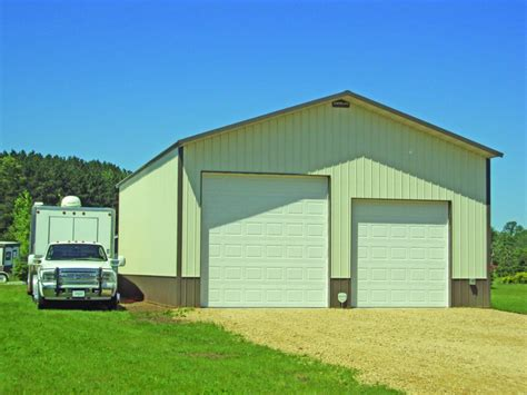 Small Metal Garage by Metal Garages Steel Garages Northland Buildings Inc