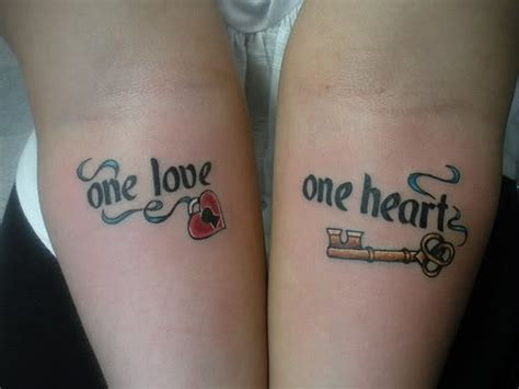 one love one heart tattoo