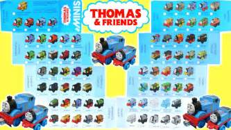 thomas friends minis checklist 70 tank engines locomotive dino robo neon metallic