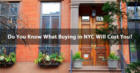 what expenses does an nyc home buyer at closing