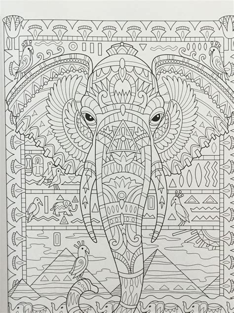 mosaic elephant coloring page 988 best zentangle dieren images on pinterest coloring