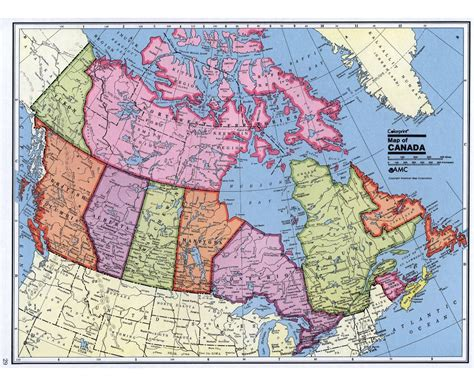 road map usa and canada maps of canada detailed map of canada in