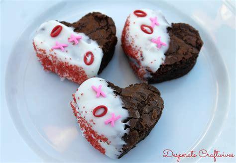 valentines brownies desperate craftwives brownies