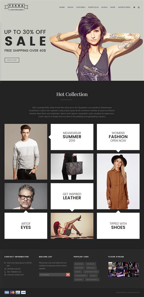 store template html5 20 best ecommerce html5 website templates 2018