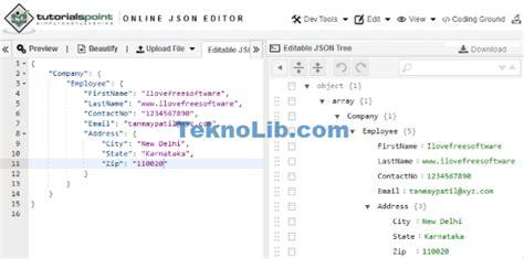 tutorialspoint json json dosyası d 252 zenleme sitesi programsız online teknolib