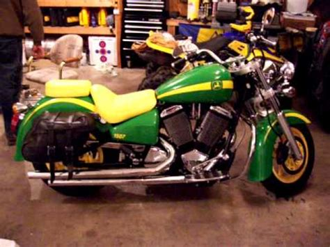 Victory Motorrad Youtube by John Deere Painted Victory Motorcycle Youtube