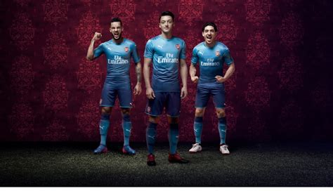arsenal fc 2017 arsenal fc 2017 18 away jersey unveiled soccer365