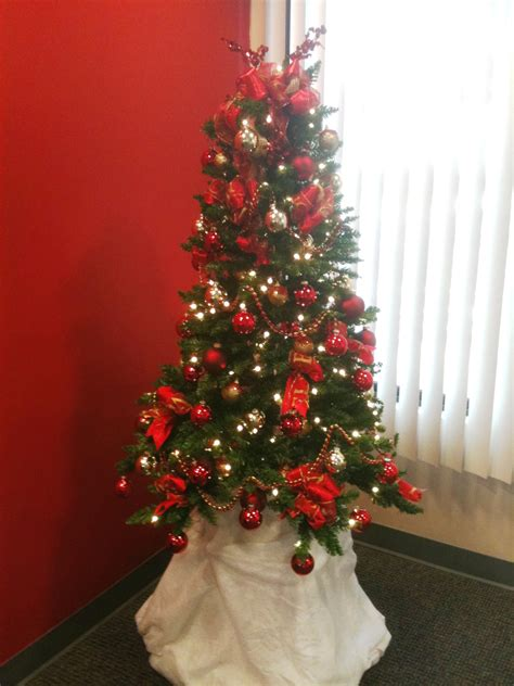 Red And Gold Home Decor by Collection Red And Gold Christmas Tree Decorating Ideas