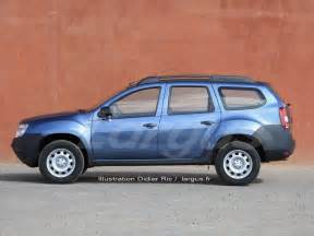 Renault Duster Versions Futur Dacia Duster 2017 Une Version 224 7 Places