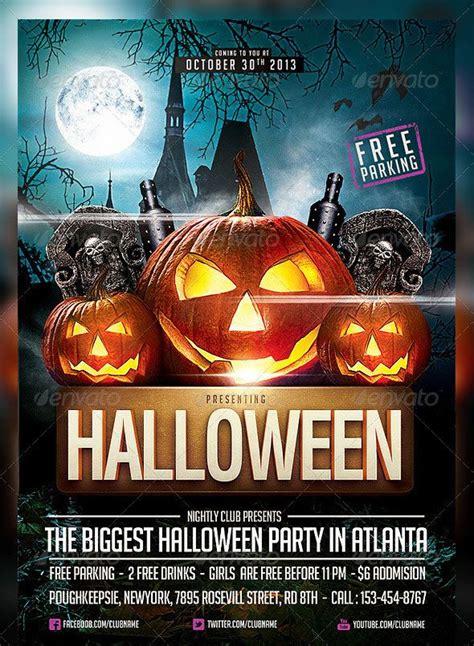 Free Downloadable Halloween Flyer Templates