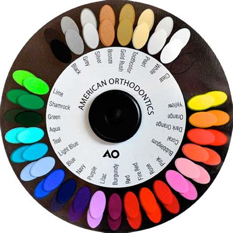 braces colors wheel what does your favorite elastics color say about your