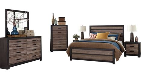 ashley furniture trishley 2pc bedroom set with queen sleigh bed ashley furniture harlinton 2pc bedroom set with queen