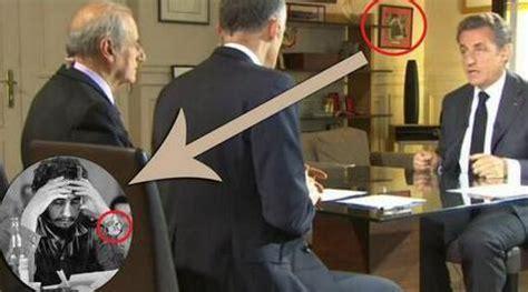mat駻iel du bureau dans le bureau de nicolas sarkozy une photo de fidel
