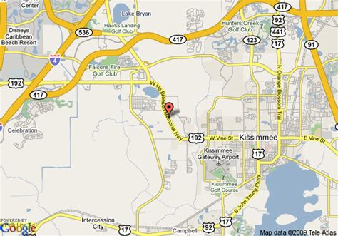 Kissimmee Records Map Of Record Parkside Inn And Suites Kissimmee