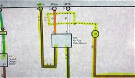 air fuel ratio sensor wiring diagram 36 wiring diagram