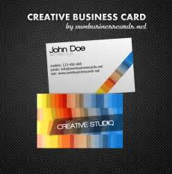 Free Business Cards Template Creative Business Card Template
