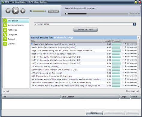 How to download mp3 songs and music