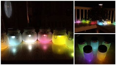easy to make home project colorful lights using solar