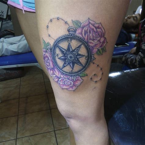 compass tattoo female letter c tattoos