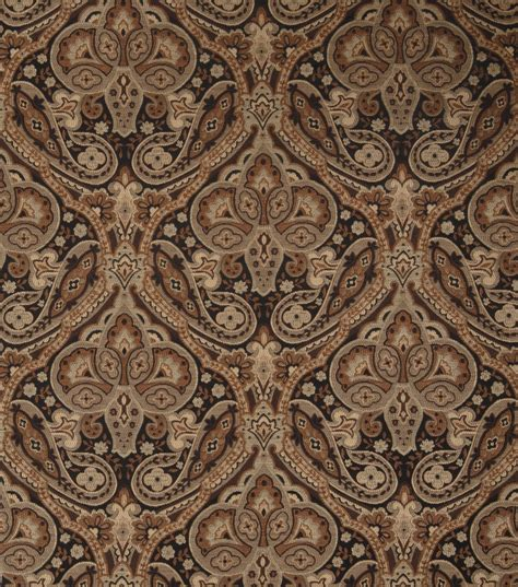 jaclyn smith upholstery fabric upholstery fabric jaclyn smith coach licorice jo ann