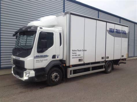 volvo truck fl volvo fl 4x2 14 tn umpikori 6 5 m tl nostin box trucks