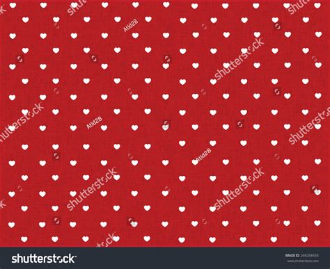 dot pattern heart hearts polka dot pattern red texture stock vector