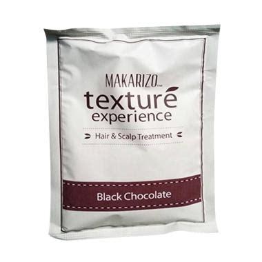 Makarizo Sho Texture Experience Black Chocolate 250 Ml masker rambut makarizo makarizo jual produk terbaru terlengkap blibli