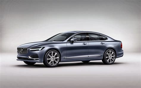 Wallpaper Volvo S90 Luxury Sedan 2017 Cars Volvo 4k