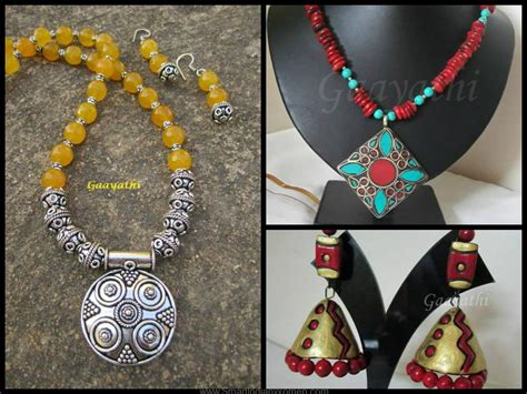 Indian Handmade Jewelry - an with parvathy arun jewelry designer smart