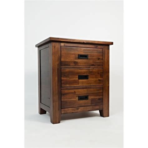 corner nightstand bedroom furniture jofran coolidge corner nightstand in brown 1503 90