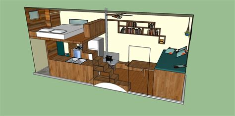 Two Bedroom Two Bath Floor Plans by Tiny House Design Challenges And Changes Tiny Roots