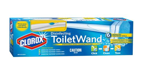 clorox disinfecting toiletwand disposable toilet cleaning system  refills walmart canada