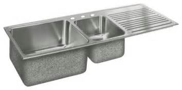 Stainless Steel Kitchen Sinks With Drainboards Bowl Stainless Steel Sink Contemporary Kitchen Sinks Other Metro By Rebekah