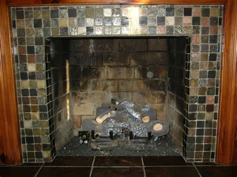 Re Tiling A Fireplace Surround by Fantastic Slate Fireplace Surrounds To Enhance The
