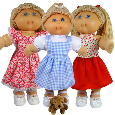 free knitted cabbage patch doll clothes patterns doll skirt pattern