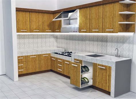 desain dapur sederhana modern ndik home